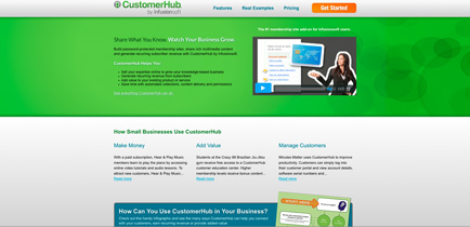 Customerhub: The #1 Membership Site Add-on for Infusionsoft Customers