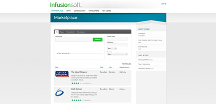 Infusionsoft Marketplace: One-stop shopping for add-ons, consultants and developers